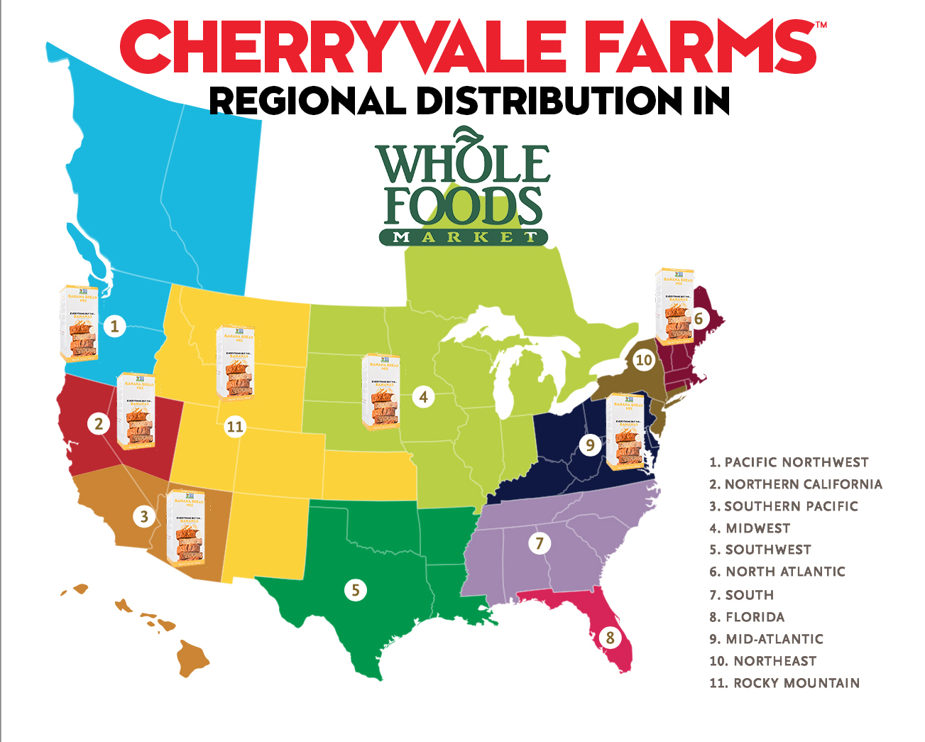 Whole Foods Regional Map Whole Foods Market Locations Map   World Maps